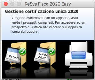 ReSys Fisco: invio, sostituzione e annullamento dei file telematici per le dichiarazioni CU