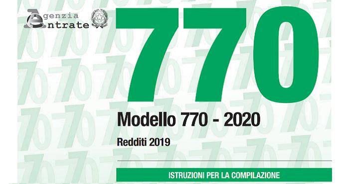 Proroga della scadenza fiscale per l'invio dei modelli 770
